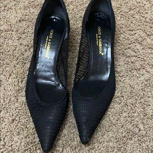 Dolce & Gabbana Black Heels sz. 39.5 ( 9.5)